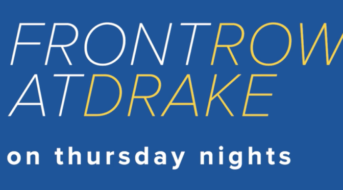 Front Row at Drake: Second episode to premiere Thursday