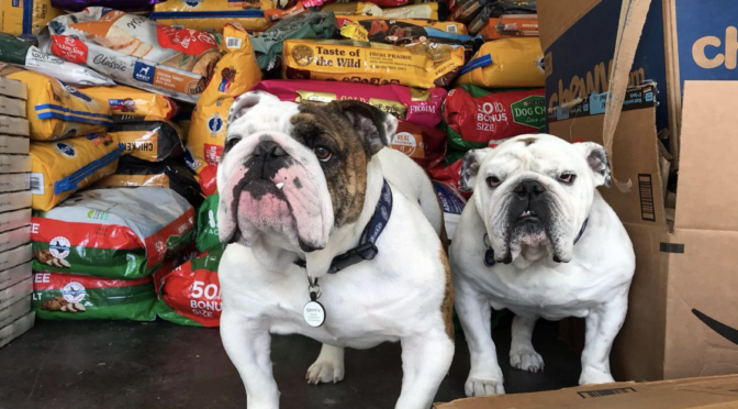 Griff Gives Back pet food drive