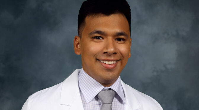 Flores among five applicants to receive competitive CVS Health Minority Scholarship